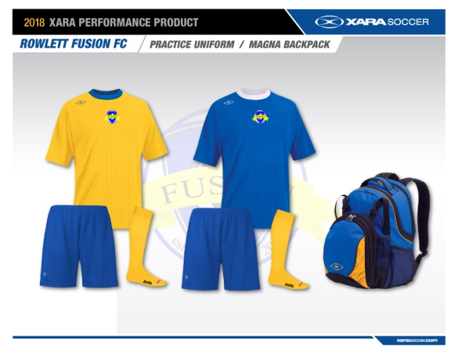 Rowlett-Fusion-FC_Bag-and-Practice-Uniforms